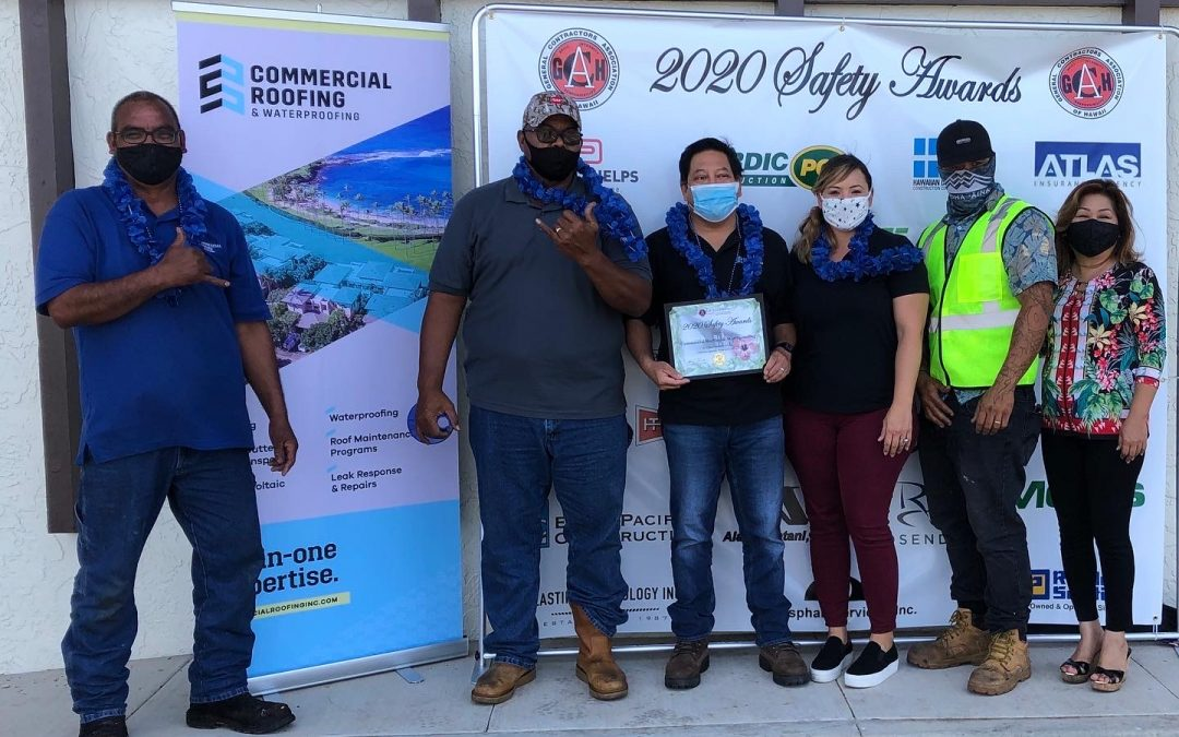 2020 Drive By GCA Hawaii Safety Awards