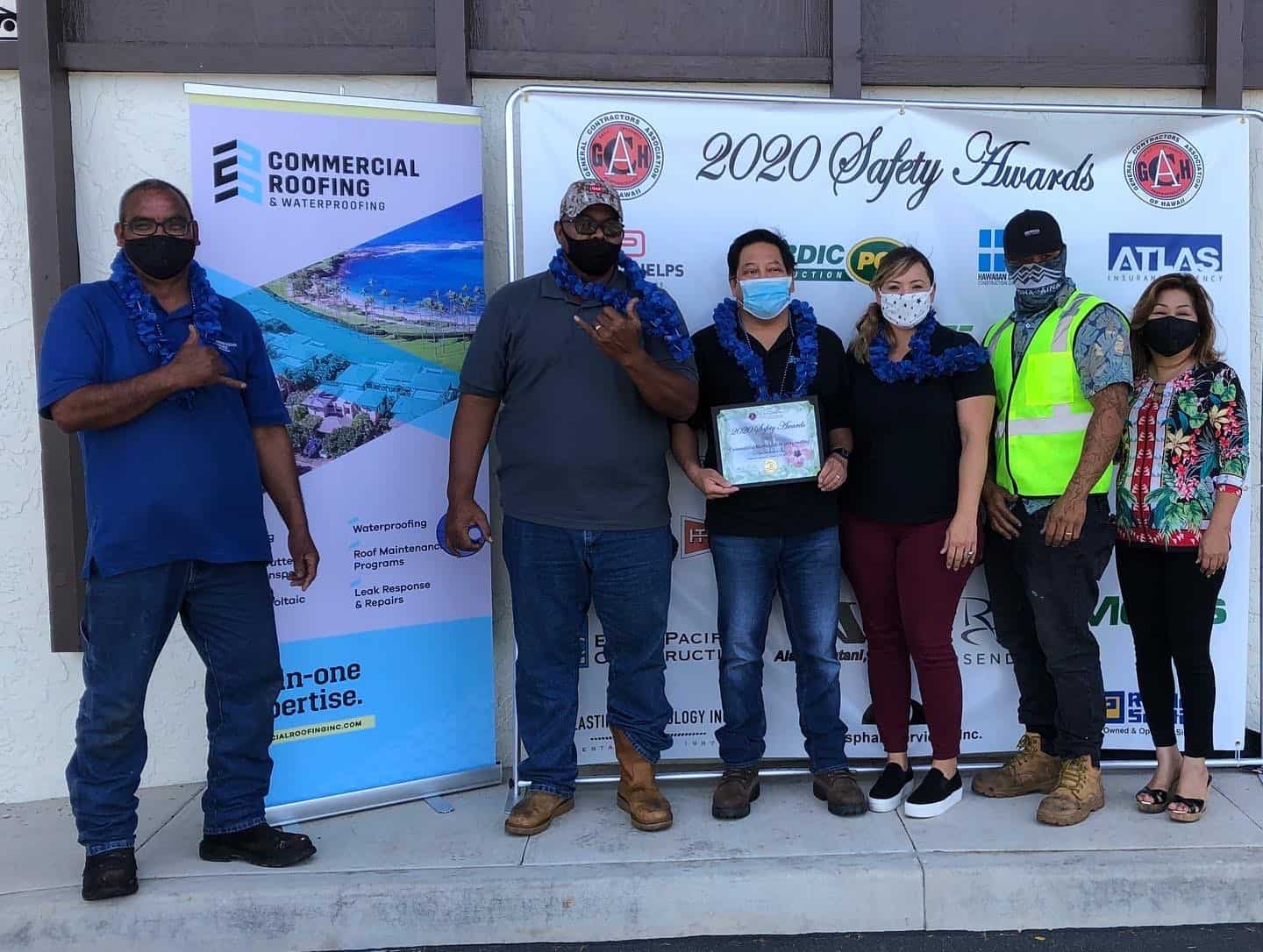2020 GCA Hawaii Safety Awards