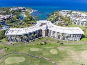 Aerial view of Hilton Waikoloa Village